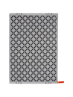 Off-White Arrow Pattern Shower Towel White Black