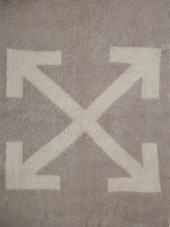 Off-White Blanket Taupe Beige