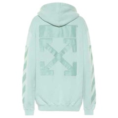 Off-White C/O Virgil Abloh Oversized Printed Cotton Jersey Hoodie