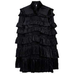 Off-White c/o Virgil Abloh Tiered Ruffled Mini Dress