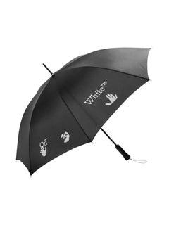 Off-White Long Umbrella Black White
