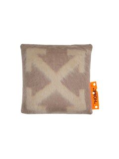 Off-White Pillow Small Taupe Beige