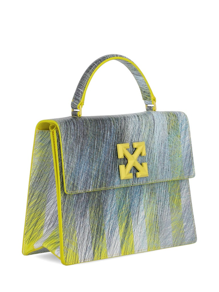 Off-White Woman Shoulder bag  Black Leather In Excellent Condition For Sale In Milan, IT