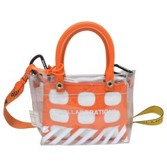 Off White x Heron Preston Collaboration Tote Bag with Industrial Shoulder Strap