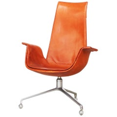 Office Bird Tulip Chair by Fabricius & Kastholm for Alfred Kill International