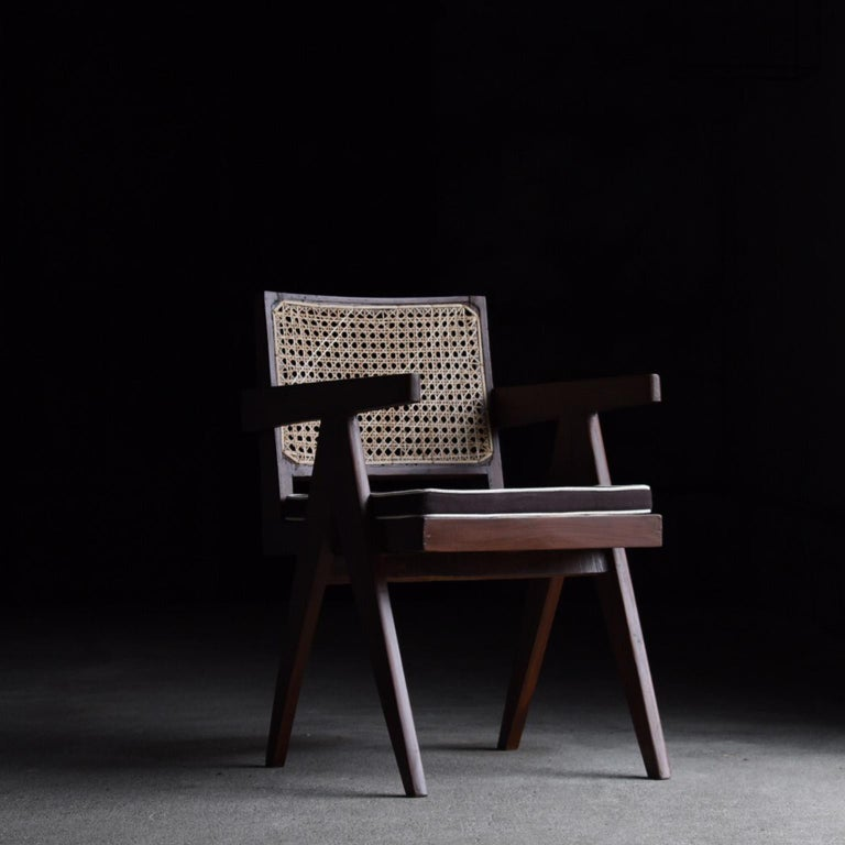 Office chair designed by Pierre Jeanneret for the Chandigarh project.
