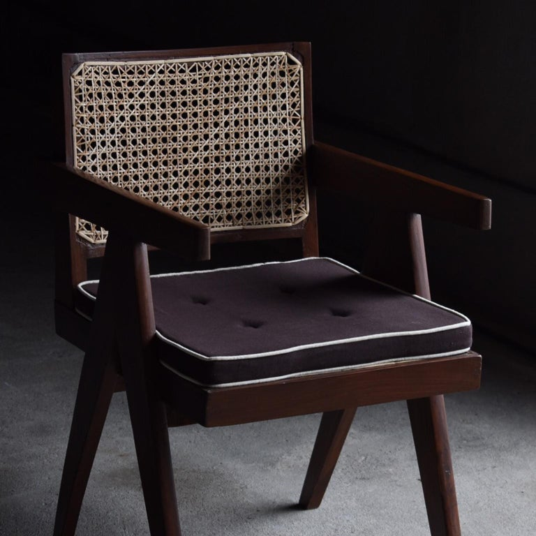 Mid-Century Modern Office Chair by Pierre Jeanneret For Sale