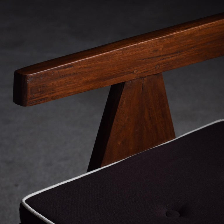 Mid-20th Century Office Chair by Pierre Jeanneret For Sale
