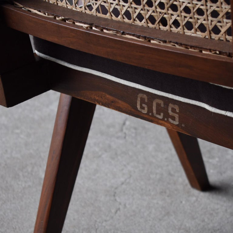 Office Chair by Pierre Jeanneret For Sale 1