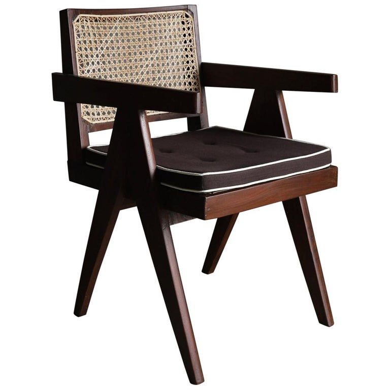 Office Chair by Pierre Jeanneret For Sale