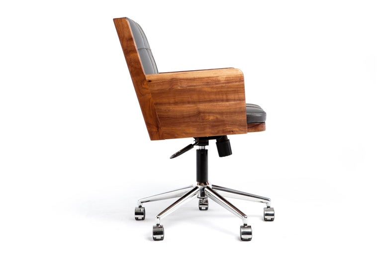 Darwin added wheels to the office chair in 19th century.