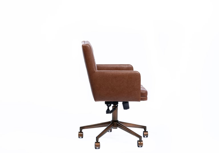 Office Chair, International Style Wooden Office Chair For Sale 2