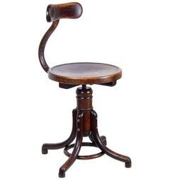 Office Chair Thonet B564, circa 1920