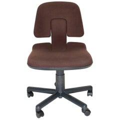 Office Chair Vintage Vitramat by Wolfgang Mueller Deisig 1976 Vitra Switzerland