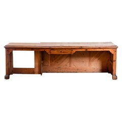Office Desk in Fir Tree, End of the 19th Century