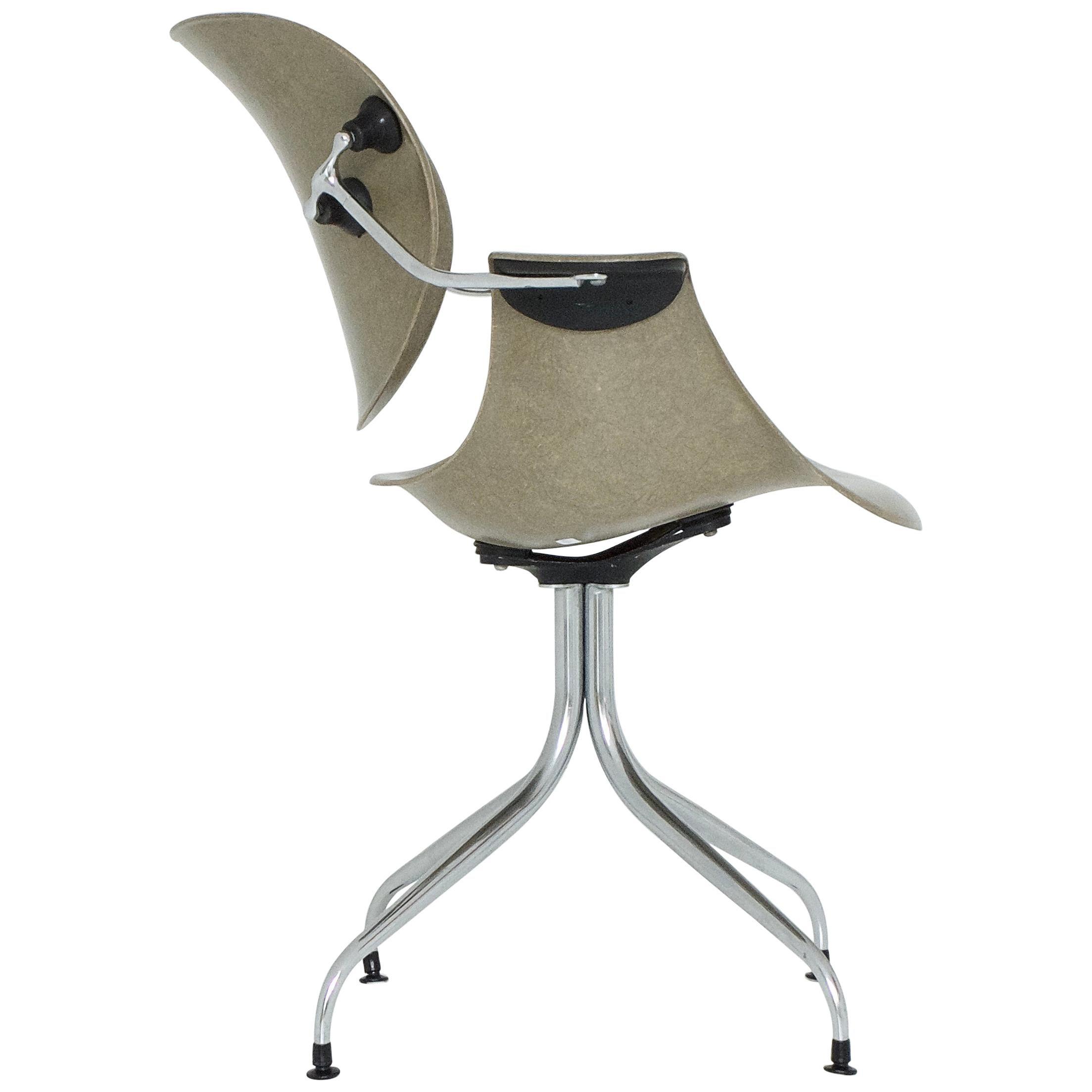 Office Swag Leg Chair DAA by George Nelson vor Herman Miller, 1958
