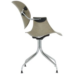 Office Swag Leg Chair DAA by George Nelson vor Herman Miller, 1958