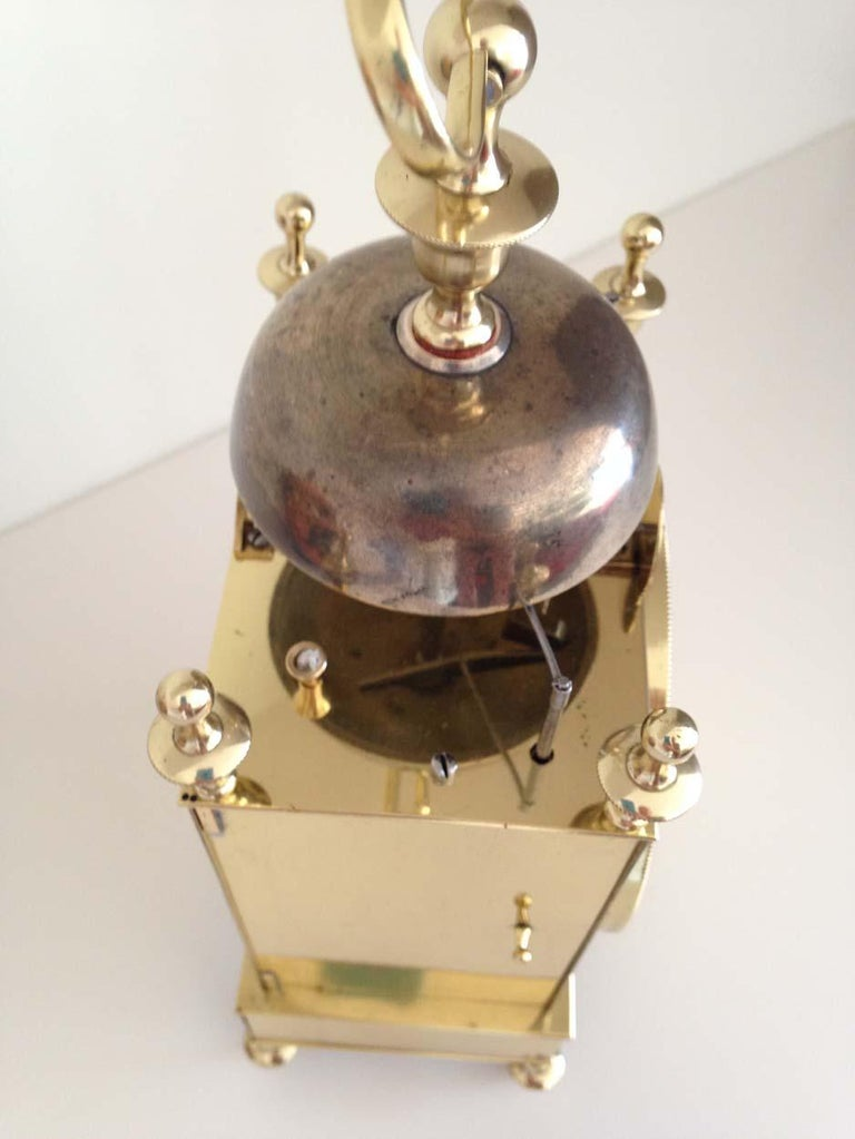 French Capucine Clock Circa 1820 Hastroffer a Lyon For Sale 1