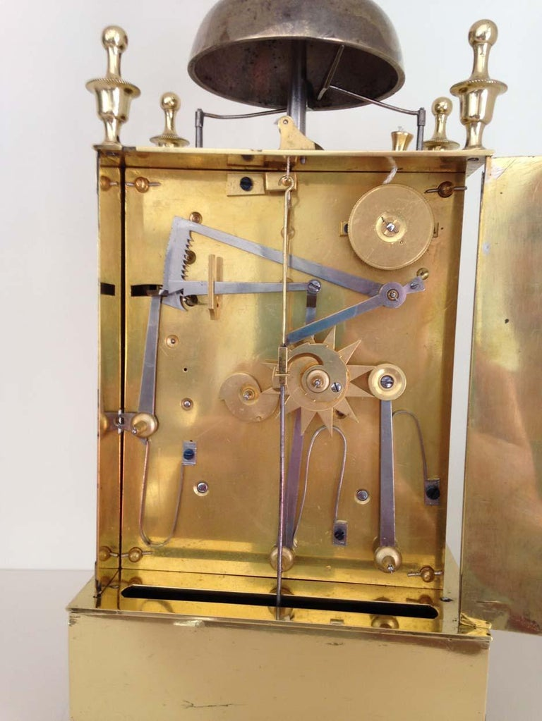 French Capucine Clock Circa 1820 Hastroffer a Lyon For Sale 2
