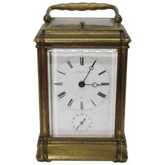 Officer's Clock Signed by Famous Watchmaker Leroy, 19th Century
