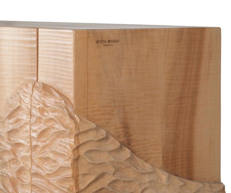 Italian Officina Rivadossi Falegnameria Cabinet Model Madia Delle Colline, Italy For Sale