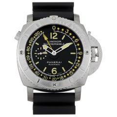 Officine Panerai Luminor Submersible Depth Gauge Watch PAM193