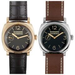 Officine Panerai Radiomir 1940 Limited Edition Two Watch Set PAM00784