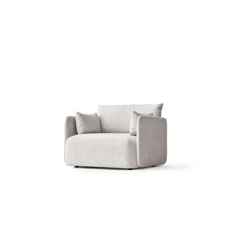 Offset Sofa Chair, 1-Seat, Light Grey \