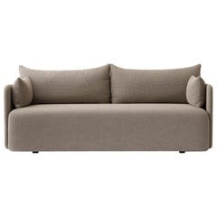 Offset Sofa Chair, 3-Seat, Dark Sand, Designed by Norm Architects