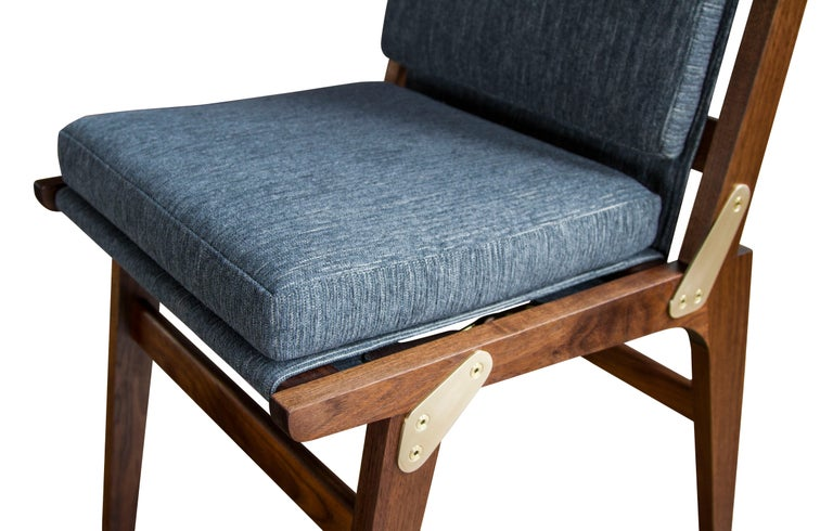 Mid-Century Modern O.F.S. Dining Chair For Sale