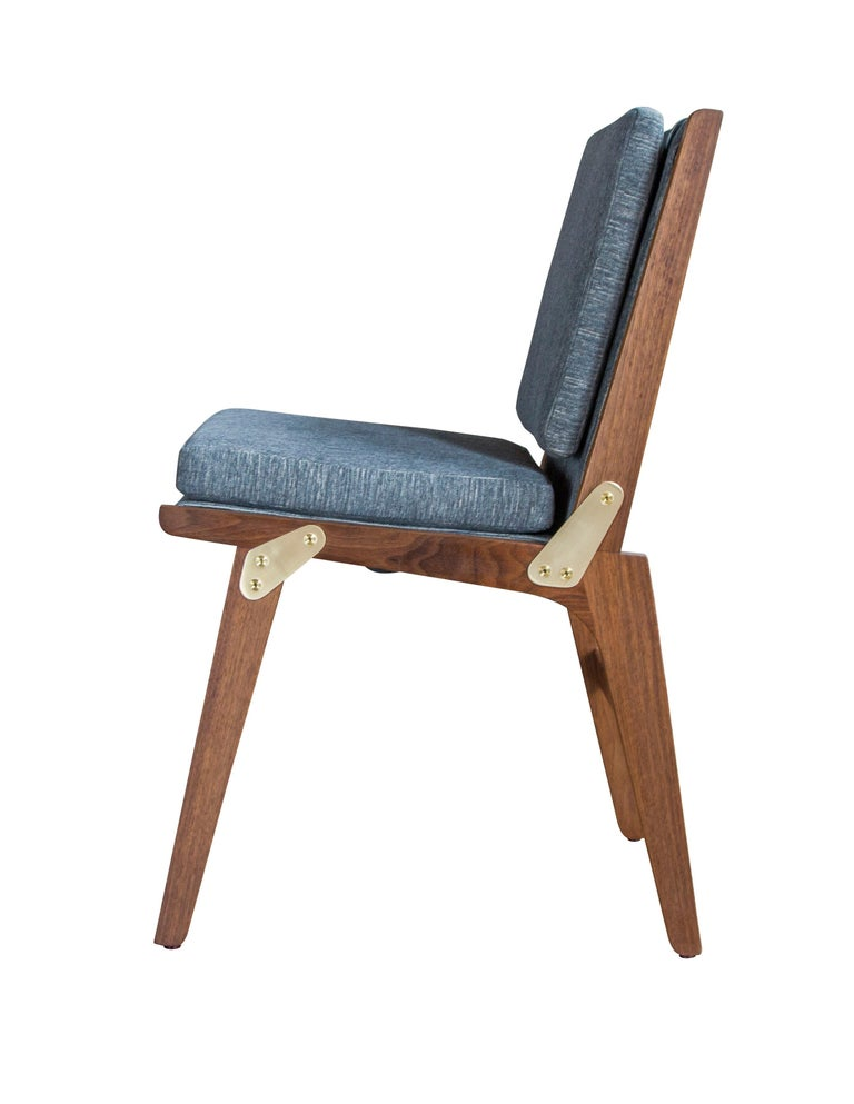 Hand-Crafted O.F.S. Dining Chair For Sale