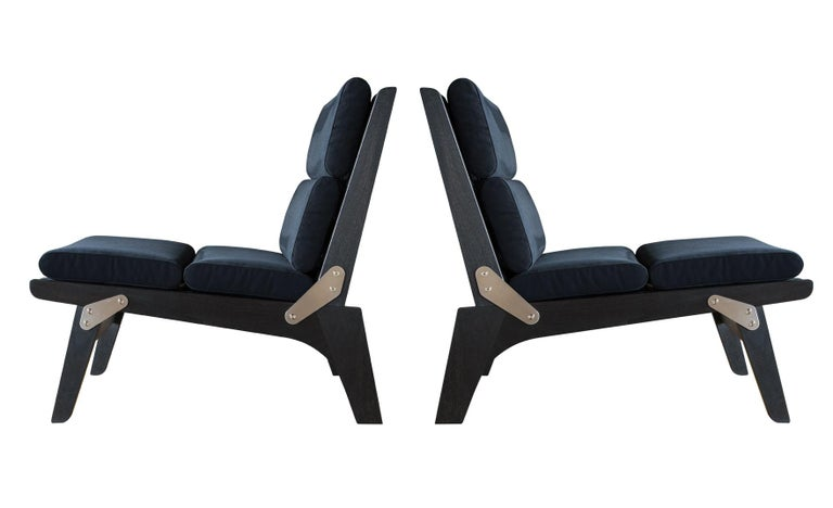 American O.F.S. Lounge Chair For Sale