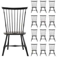 O&G Studio Windsor Dining Chair in Ebony, 25+ Available