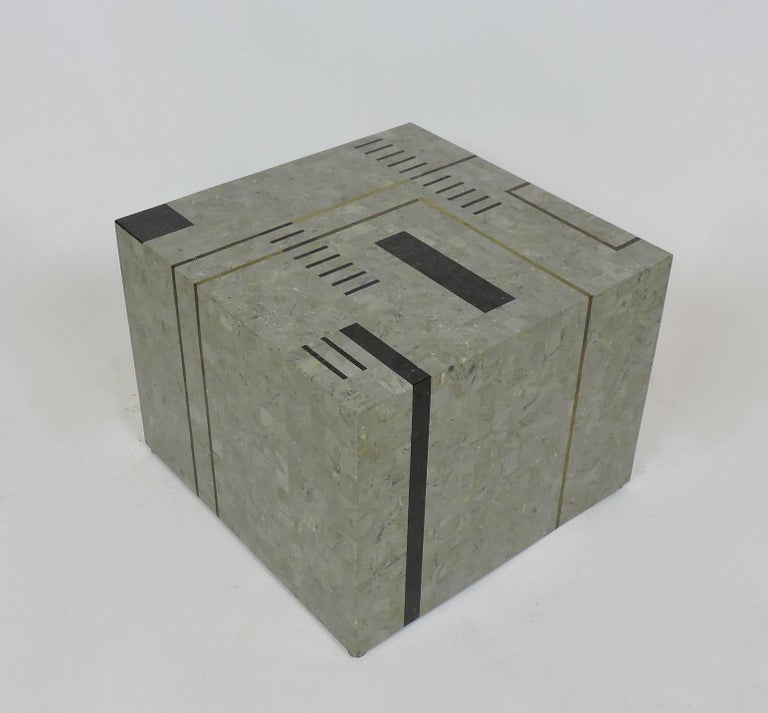 Philippine Oggetti Modernist Tessellated Stone