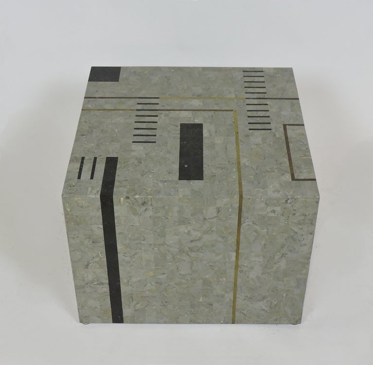 Inlay Oggetti Modernist Tessellated Stone