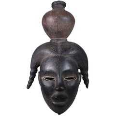 Ogoni Mask of Titled Young Woman Nigerian Tribal Art