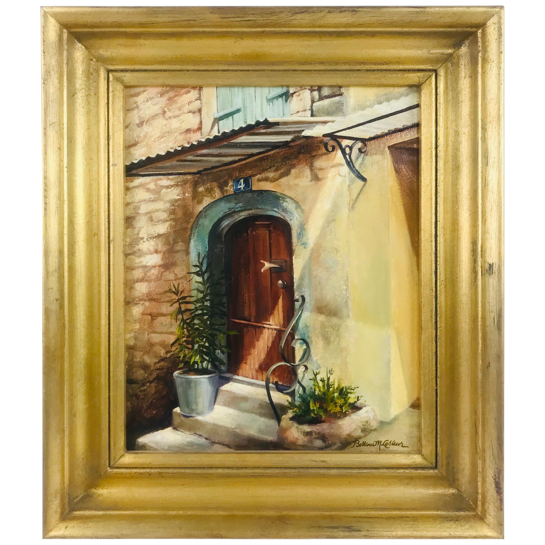 Oil on Board by Listed Artist Bettina Lesieur