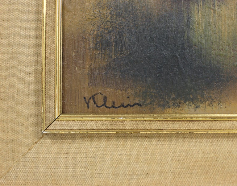 Oil on Board by Paul Georges Klein In Good Condition For Sale In London, GB