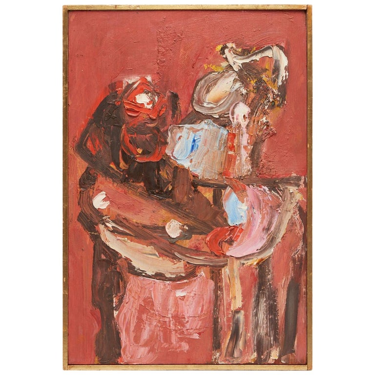 Oil on Board by William Freed For Sale