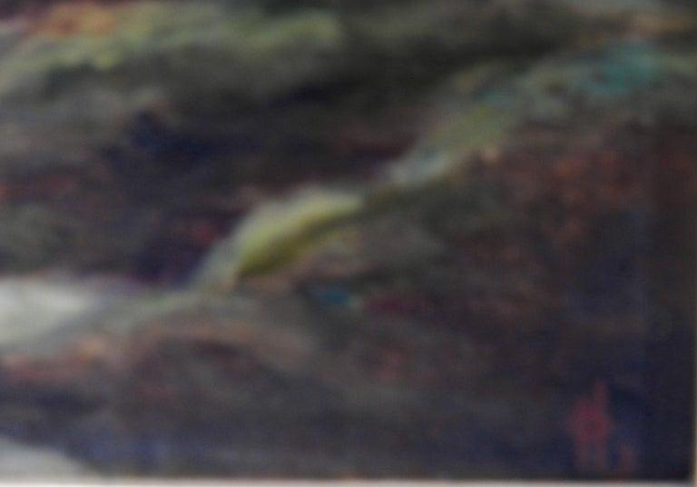 Victorian Oil on Board Landscapes, Signed For Sale