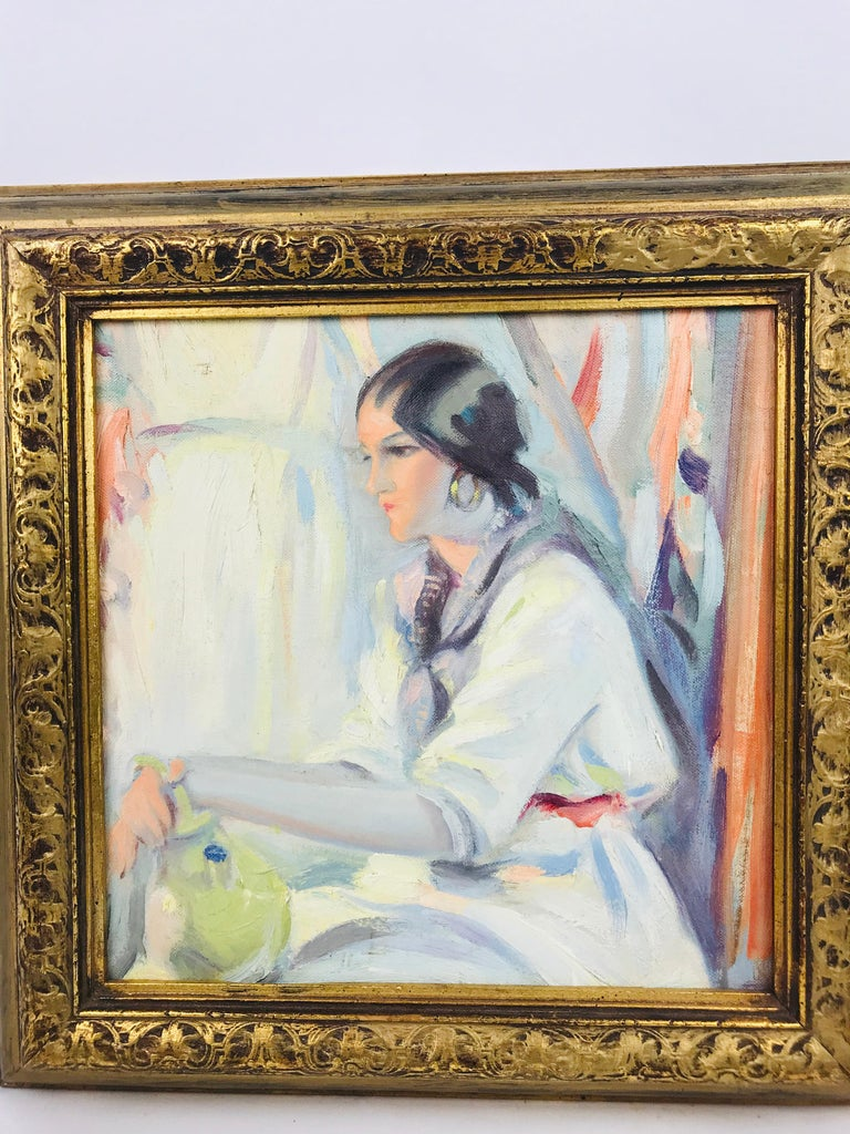 Other Oil on Board Winold Reiss