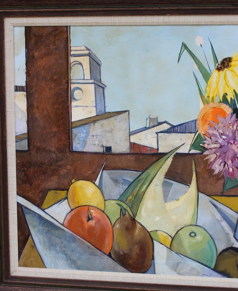 20th Century Oil on Canvas Artwork by French Artist Charles Levier For Sale