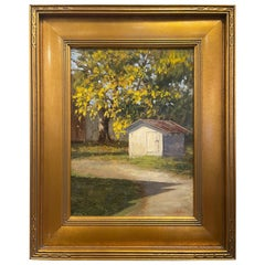 """Oil on Canvas """"Autumn in the Country"""" by Sue Foell"""