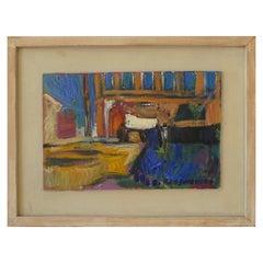 Oil on Canvas by Alexey Krasnovsky, 2000