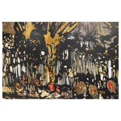 Oil on Canvas by Claude Viseux