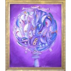 Oil on Canvas by Cuban American Artist Jose Maria Mijares
