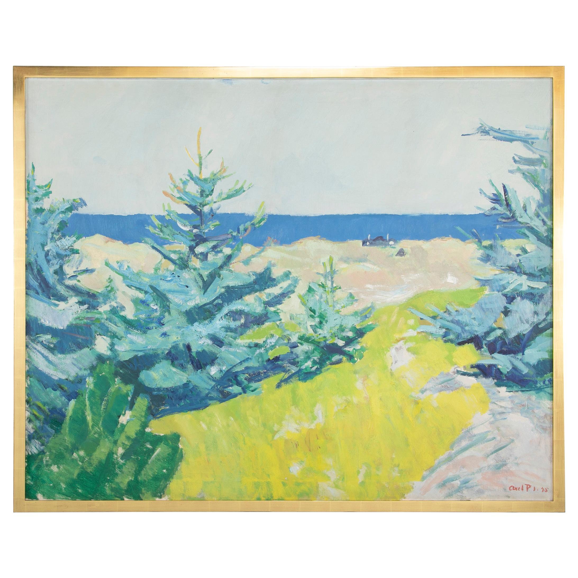 Oil on Canvas by Danish Artist Axel P. Jensen