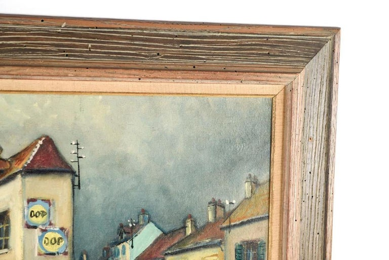 Modern Oil on Canvas by George Brainerd Burr For Sale