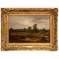 Oil on Canvas by George Burrell Willcock RA