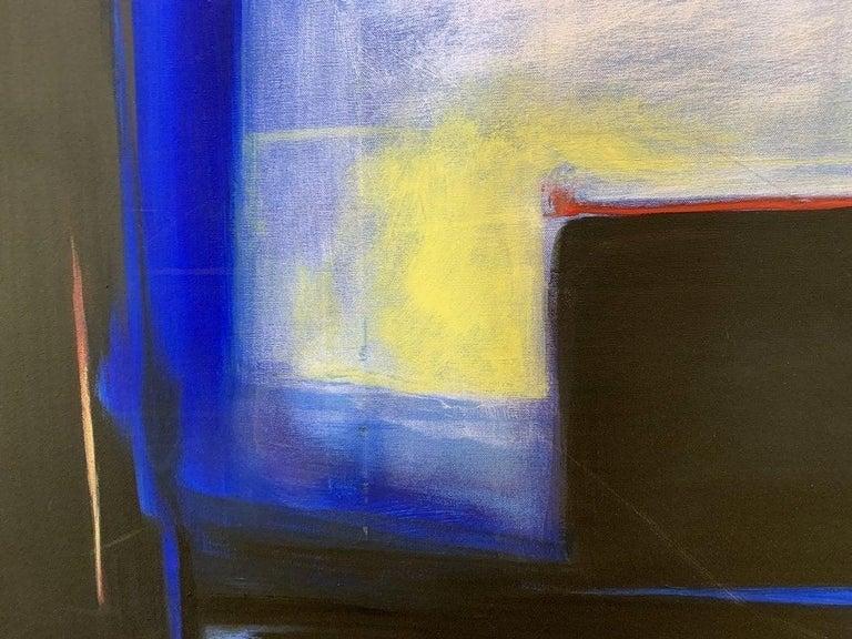 American Oil on Canvas by Marlene Burns